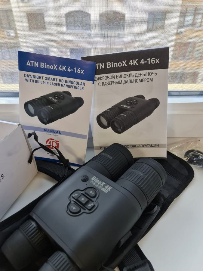 Цифровой бинокль ATN Binox 4K 4-16X , фото 1062403280.jpeg